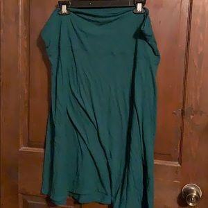 Women's XL Green Skirt: Old Navy (New)